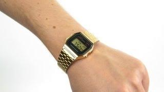 Casio Unisex Classic Digital Bracelet Watch A159WGEA 1EF