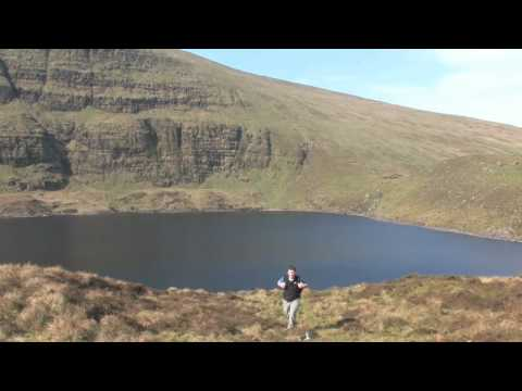 Climbing Galtymore -  Tipperary