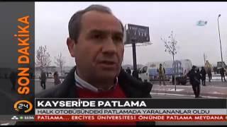 #SONDAKİKA #Kayseri'de patlama! Görgü tanığı anlatıyor
