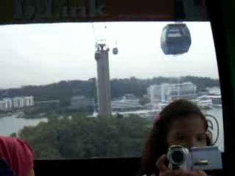 cable car @ singapore.