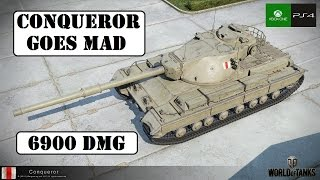 Conqueror goes Mad! - World of Tanks Console ( Xbox / PS4 )