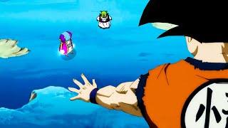 Goku's FINAL Option Against MORO (Judgment of Zeno)