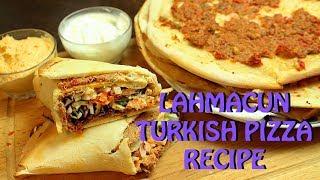 LAHMACUN PIZZA ( TURKISH ) RECIPE *COOK WITH FAIZA*