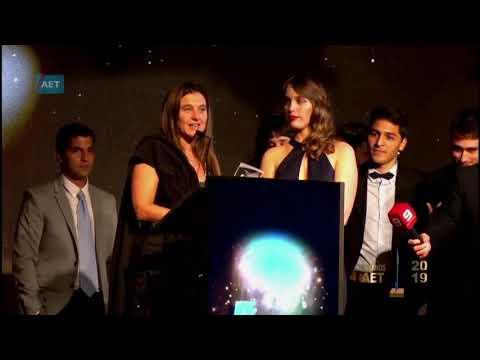 Canal Nueve Litoral alzó el Oro en los Premios AET