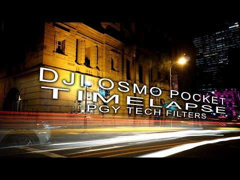 DJI OSMO POCKET Timelapse TIPS + PGY TECH ND Filters