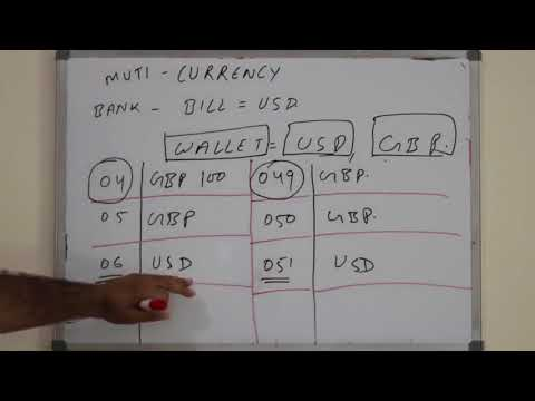 Chapter#11: Multi Currency Wallet System:Single Currency:Issuing:Payment Schemes