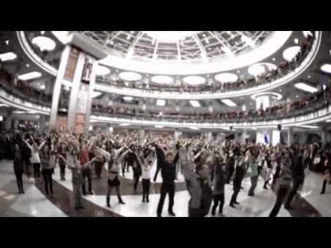 Всенародный танцевальный флешмоб 12.11.11 Flashmob Dance. Minsk