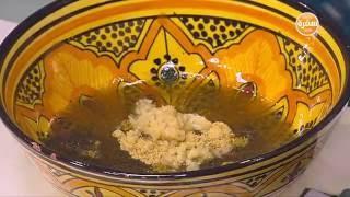 أرز بالبصل والزبيب - سلطة فواكه وخضار - طاجن سمك بالخضر | مغربيات حلقة كاملة