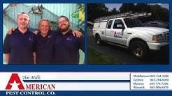 Tim Mills American Pest Control NY Middletown, Warwick, Monroe, Goshen NY pest control
