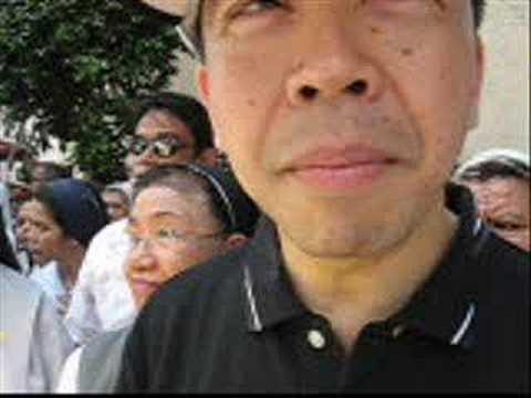 Jun Lozada Interview at Walk for Truth