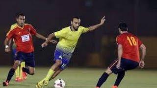 أهداف الحزم vs النصر 2-0 | مباراة ودية 2014