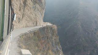 World dangerous Road in Nepal