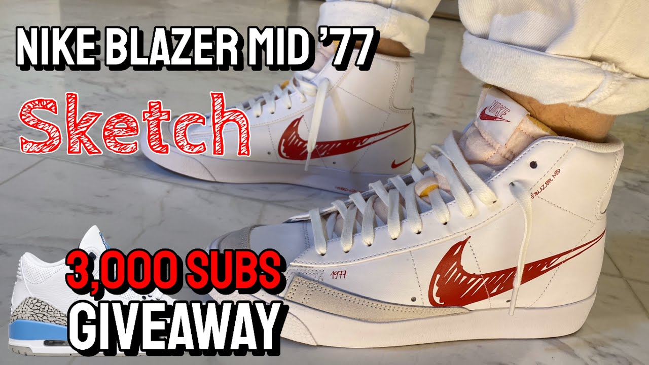 Nike Blazer Mid '77 Sketch Onfeet Review