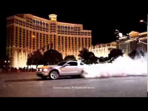 Steve Wyrick Ford Mustang Daredevil Stunt Tease