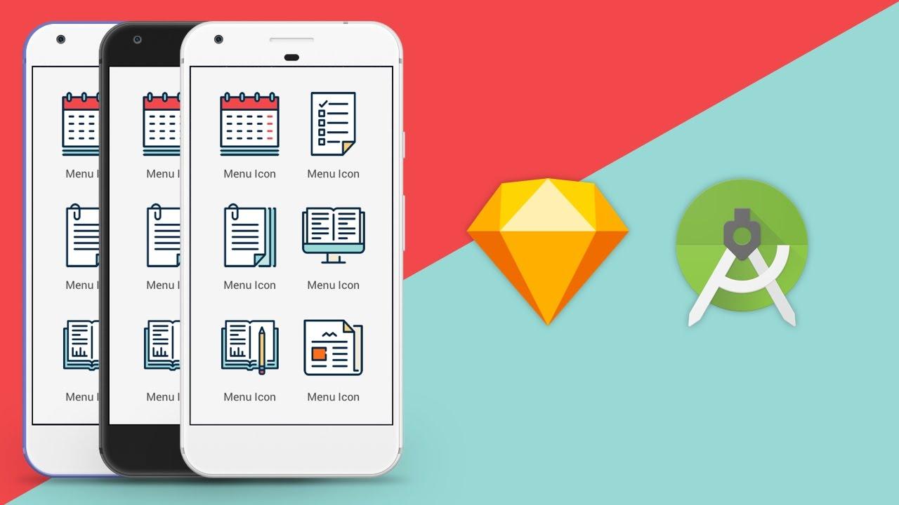 Sketch App UI Design to Android XML Studio Tutorial