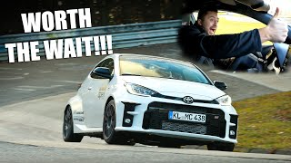FINALLY!!! FIRST NÜRBURGRING LAP With the Toyota GR YARIS!