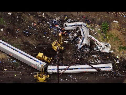 As Train Crash Death Toll Reaches 7, GOP Votes to Cut Amtrak Budget by $250M & Delay Safety Upgrades