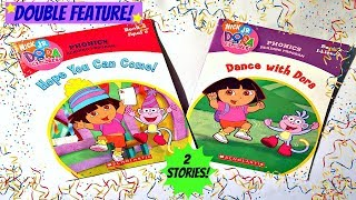"DORA THE EXPLORER ""HOPE YOU CAN COME!"" u0026 ""DANCE WITH DORA"" - Read Aloud Storybook for children"