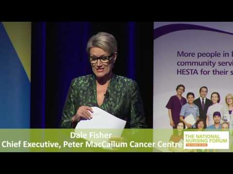 Dale Fisher Chief Executive Peter MacCallum Cancer Centre Melbourne The Power Of You