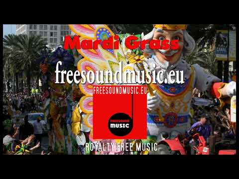 Second Line royalty free Mardi Gras New Orleans Music