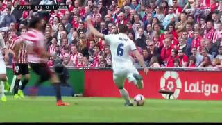 athletic bilbao vs real madrid 1 2 la liga 2017 highlights goals