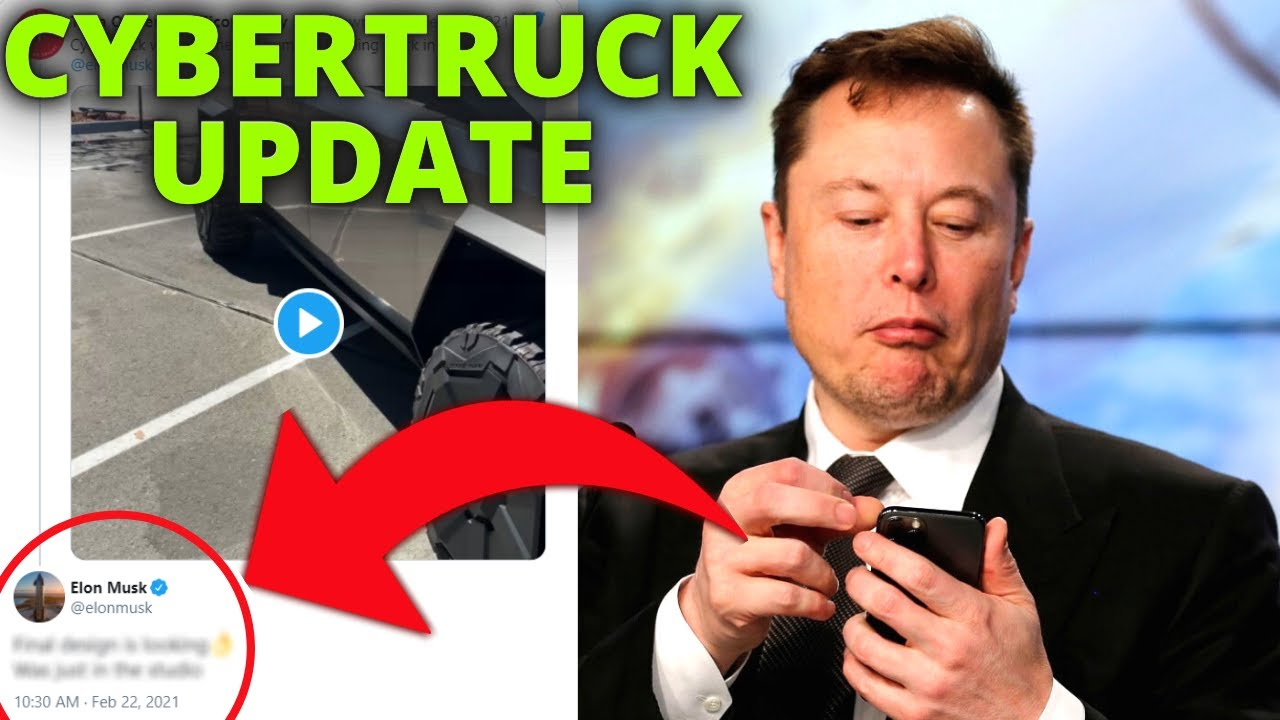 Elon Musk Shares Cryptic Update on Tesla Cybertruck Final Design
