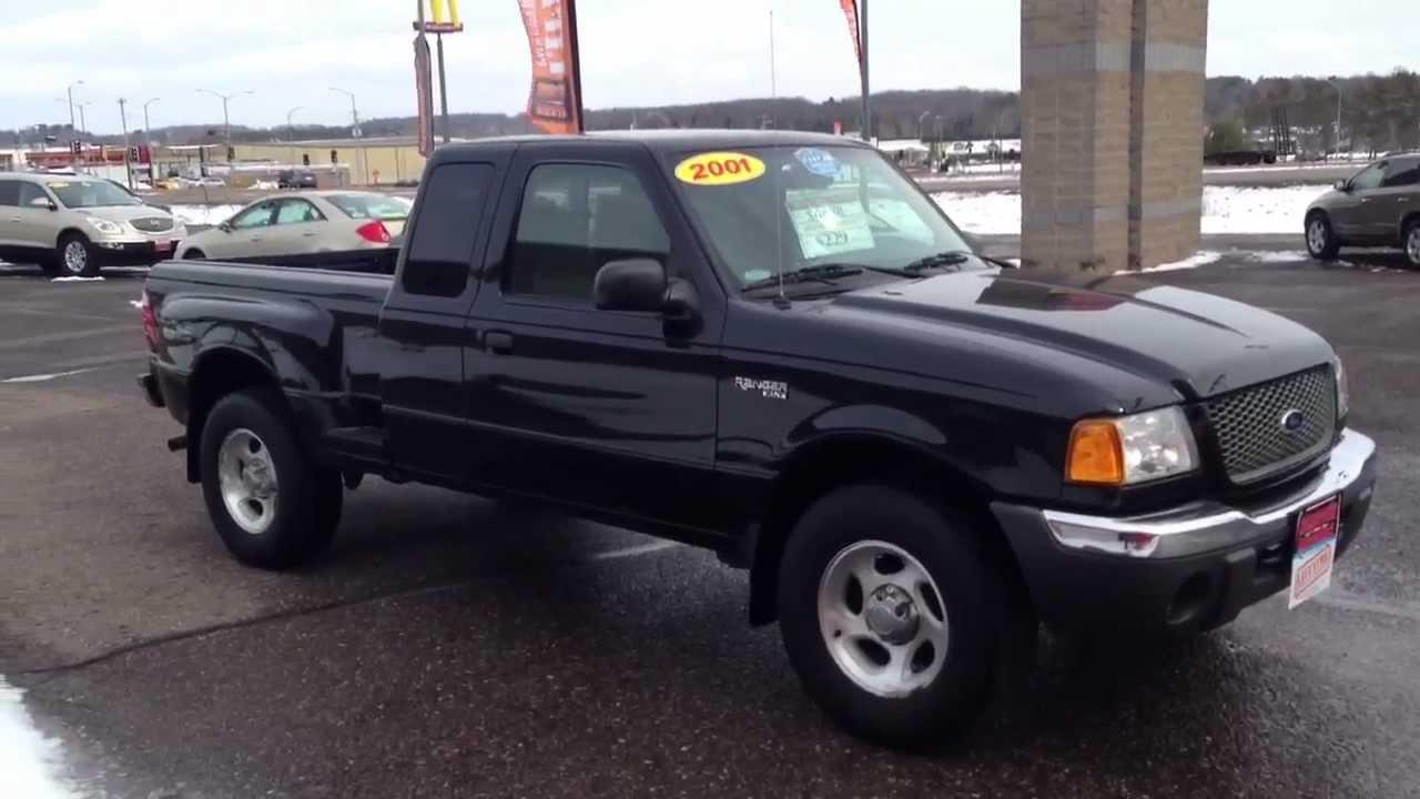 2001 Ford Ranger Xlt Supercab 4x4 Hometown Motors Of Wausau Used