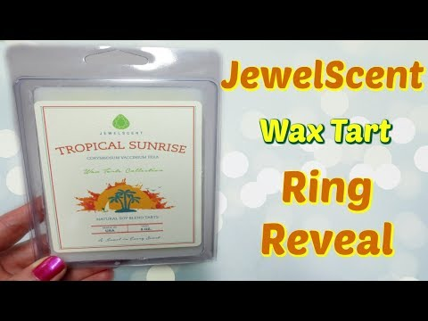 JewelScent Ring Reveal - Tropical Sunrise Wax Tarts!