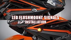 How to install LED Flushmount Signals on a 2016+ Honda CBR500R by TST Industries
