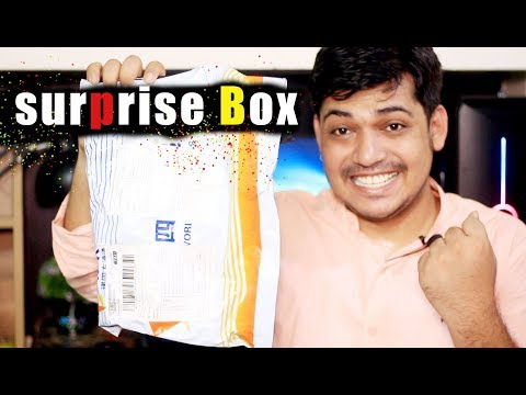 Surprise product box for RealTech Master | Review unite | Sample product