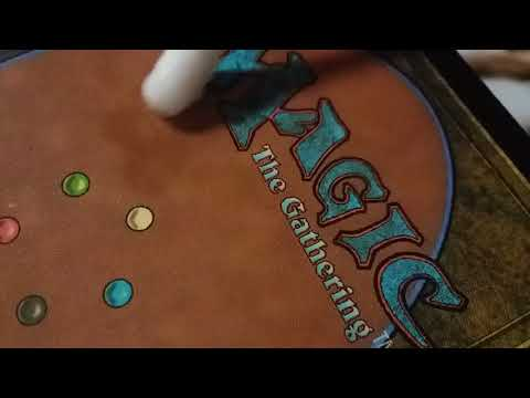 Cleaning Magic cards