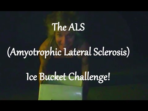 The ALS (Amyotrophic Lateral Sclerosis) Ice Bucket Challenge!