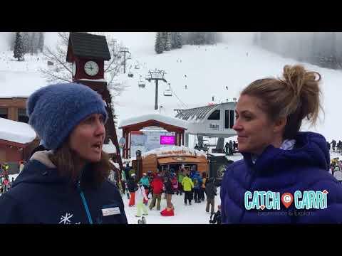 Skiing at Schweitzer Mountain Resort