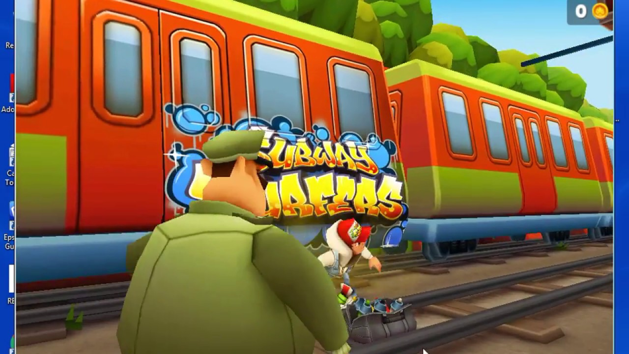how to download subway surfer in 21 MB for PC window 7,8 ...