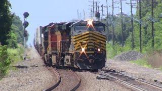 railfanning on a hot summer friday 7 10 15