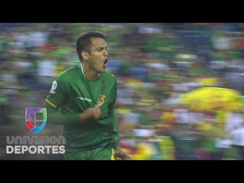 Impresionante gol de Jhasmani Campos de Bolivia para el empate ante Chile