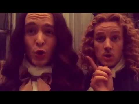 Alexander Vlahos and Evan Williams/Sweetest Actors Ever #MonChevy