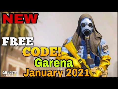 Call Of Duty Mobile Garena New Free Redeem Codes January 2021 | New Redeemption Code Codm Garena