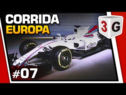 CORRIDA DA EUROPA COM SAFETY CAR - FORMULA 1 2016 - #07