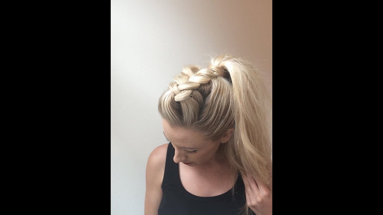 how to stop flyaways in a ponytail