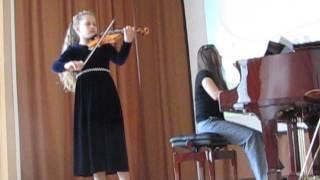 Бах Концерт ля минор I часть,BWV 1041