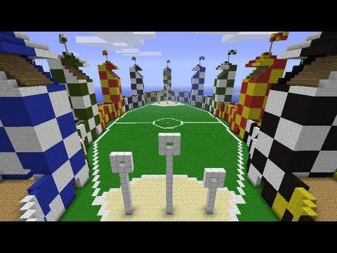 Quidditch Pitch Minecraft Minecraft - Quidditch ...