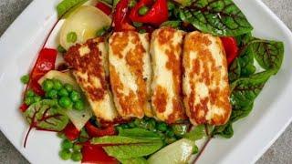 Сыр ХАЛУМИ +РИКОТТА. 2 рецепта в одном видео.