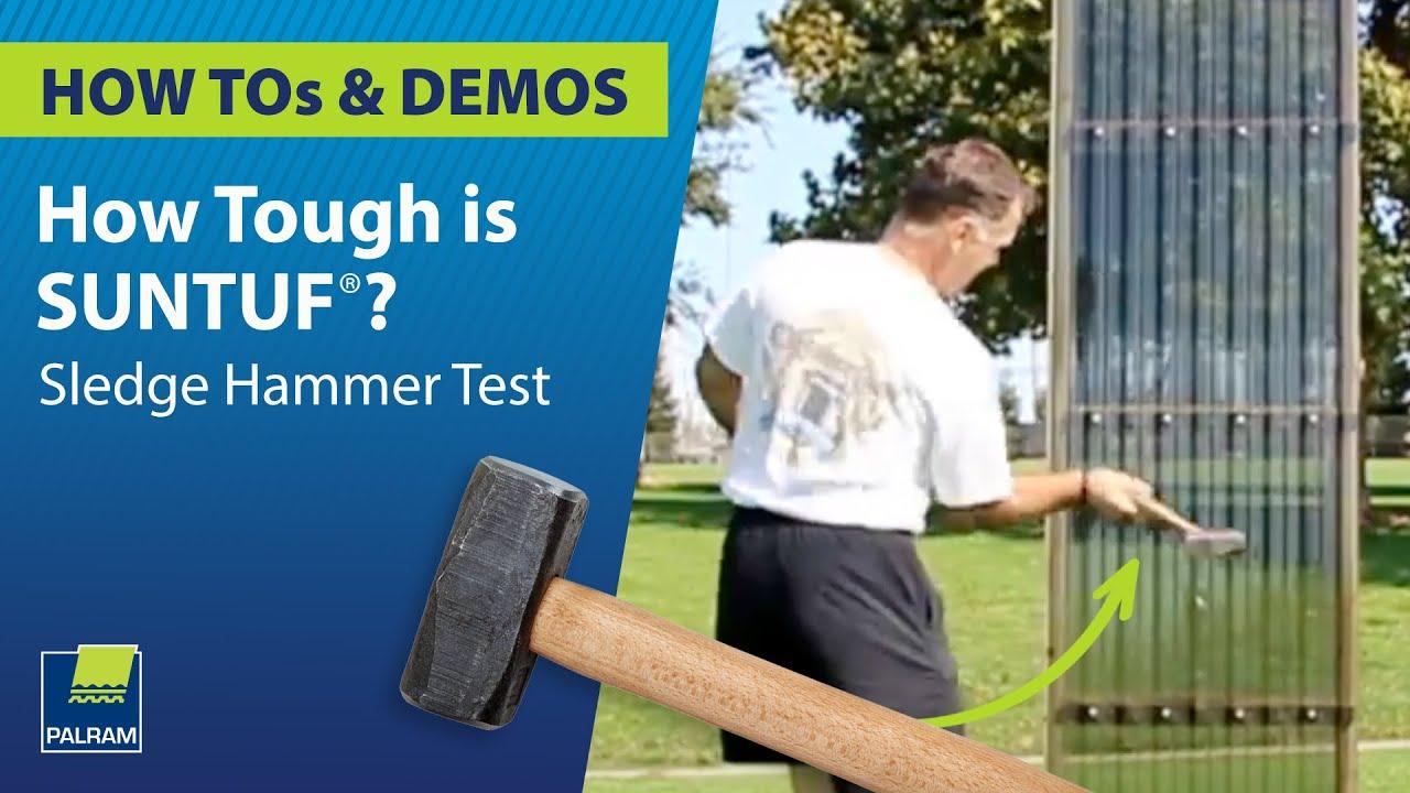 How Tough is Suntuf®?