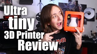 EasyThreed Nano Review - Super small 3D Printer for Kids