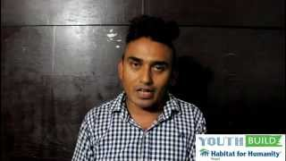 Message from Sitaram Kattel (Dhurmus) - Youth Build 2014 - Habitat for Humanity Nepal