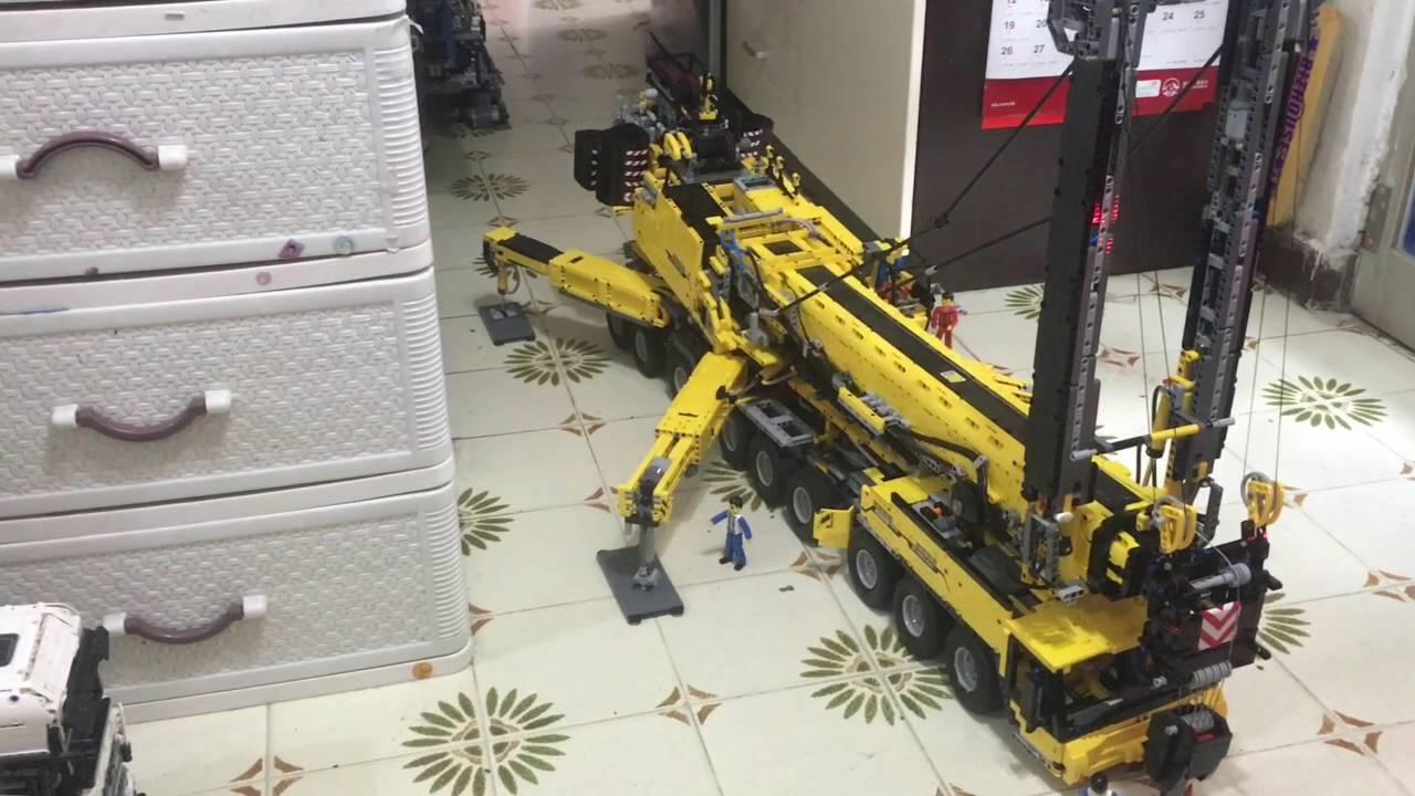 Lego Technic 91 Rc Crane Youtube