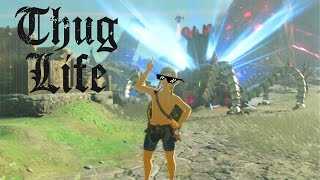 When You Kill Guardian Without a Weapon - Zelda BOTW