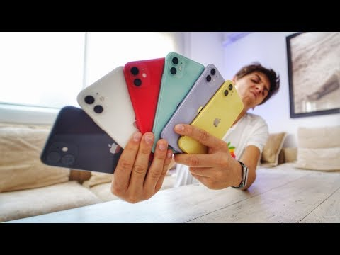 insane-iphone-11-unboxing-(all-6-colors)