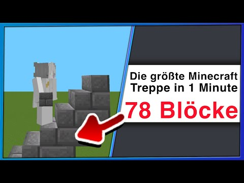Ich BRECHE die DÜMMSTEN Minecraft WELTREKORDE